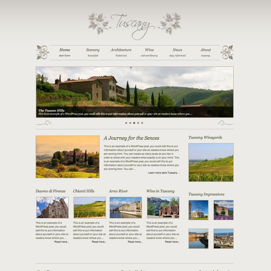 Xtreme – Tuscany Childtheme