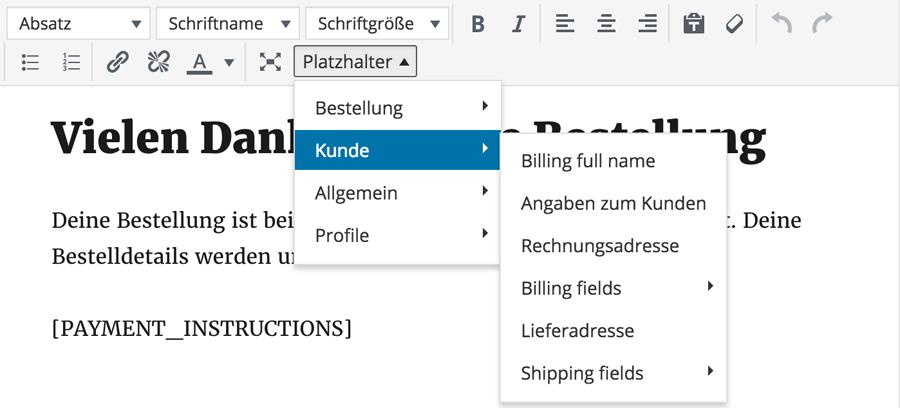 Einfaches Arbeiten mit dem WordPress Editor