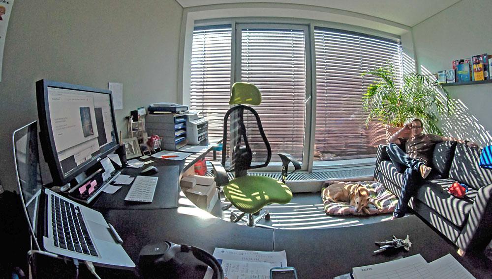 Rene's workspace